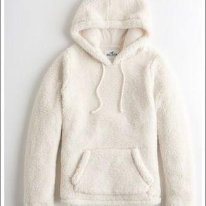 Weekend edition Sherpa hoodie